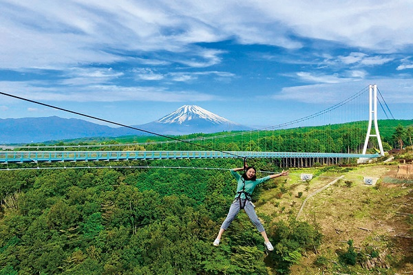 Top notch thrilling Activity at Mishima Sky Walk